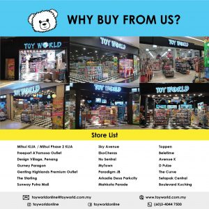 Toy World Online Toy Store Malaysia