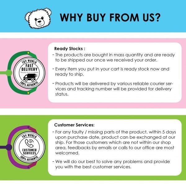 Why Buy From Us - Online Toy Store Malaysia